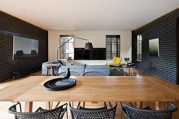 Contemporary makeover for the twin peaks residence in for 70s house exterior makeover australia