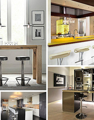 modern kitchen bar chairs