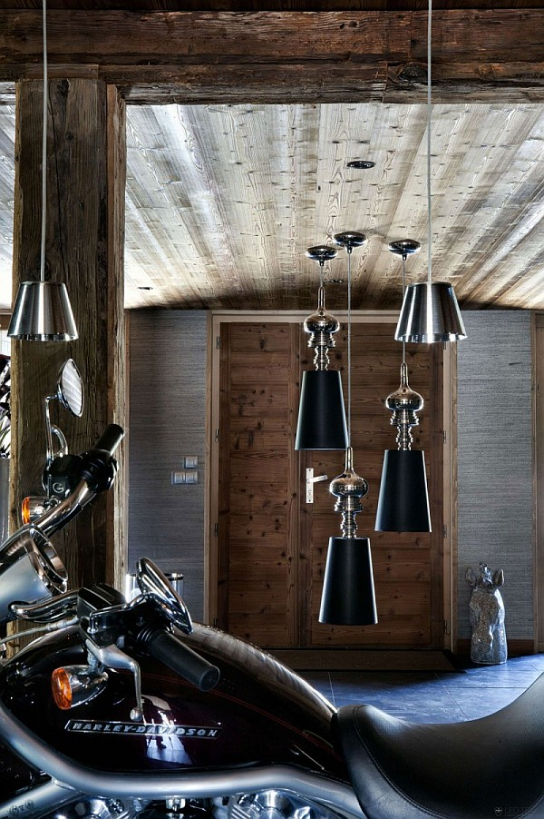 modern touches - chalet french alps