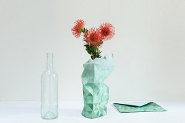 Ingenious Lampshades & Innovative Paper Vases From Pepe Heykoop and Tiny Miracles