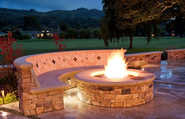 View In Gallery Patio With Firepit