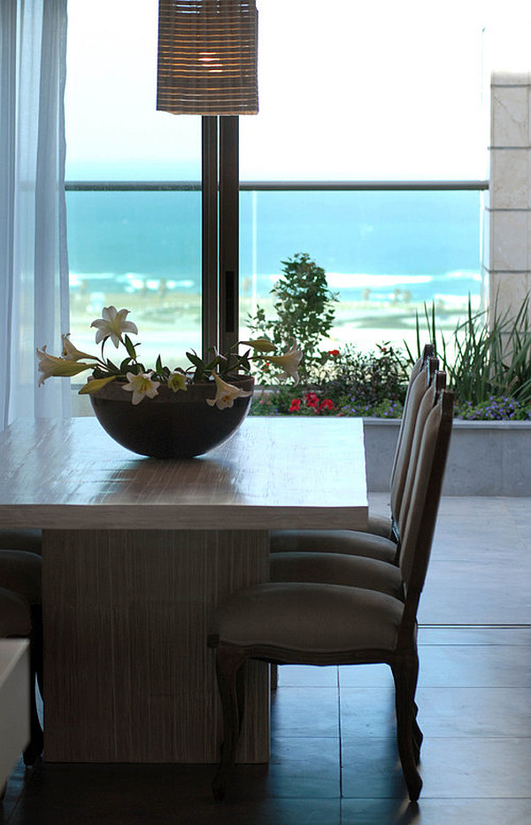 View In Gallery Penthouse Dining Room With Indoor Plants