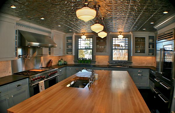 pressed tin ceiling tiles - Decoist