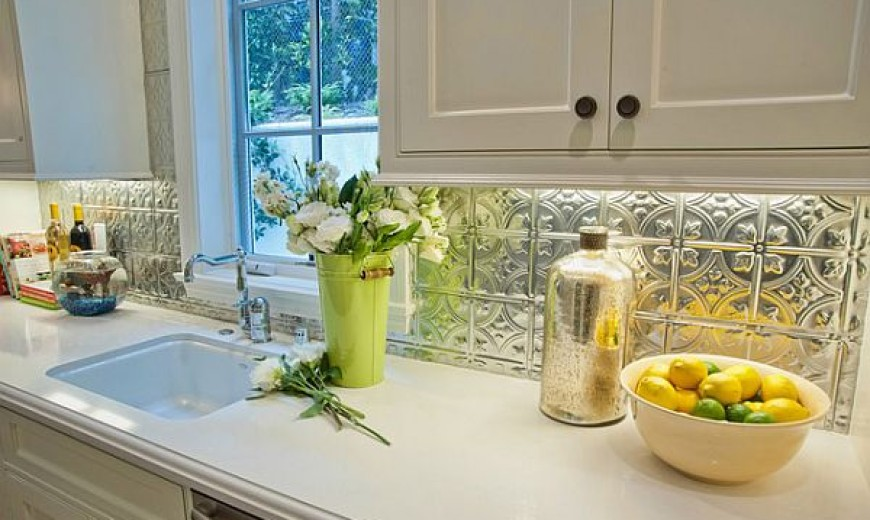 Adding Pressed Tin Into Your Home Decor