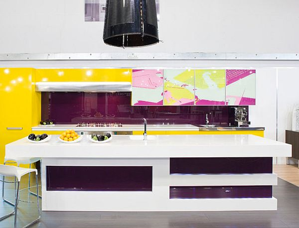 Purple Kitchens Design Ideas ~ Purple kitchen designs pictures and inspiration