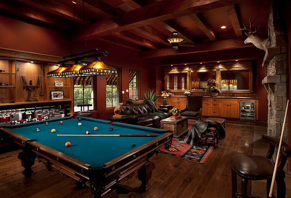 rec room and man cave Rec Room Design Ideas For Some Fancy Time at Home