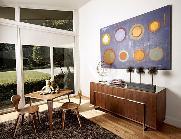 View In Gallery Beautiful Roller Blinds For Large Windows