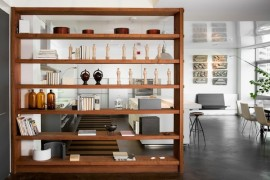 room divider book shelf