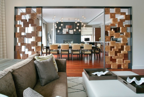 room divider cork wall