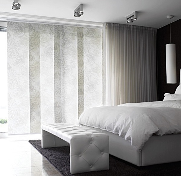 sheer panel blinds