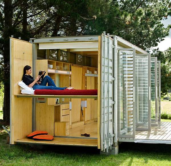 Inside Shipping Container Homes: Compact And Sustainable Port-A-Bach Shipping Container
