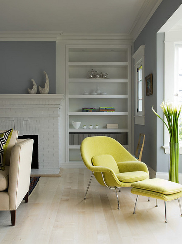 spring colors living room