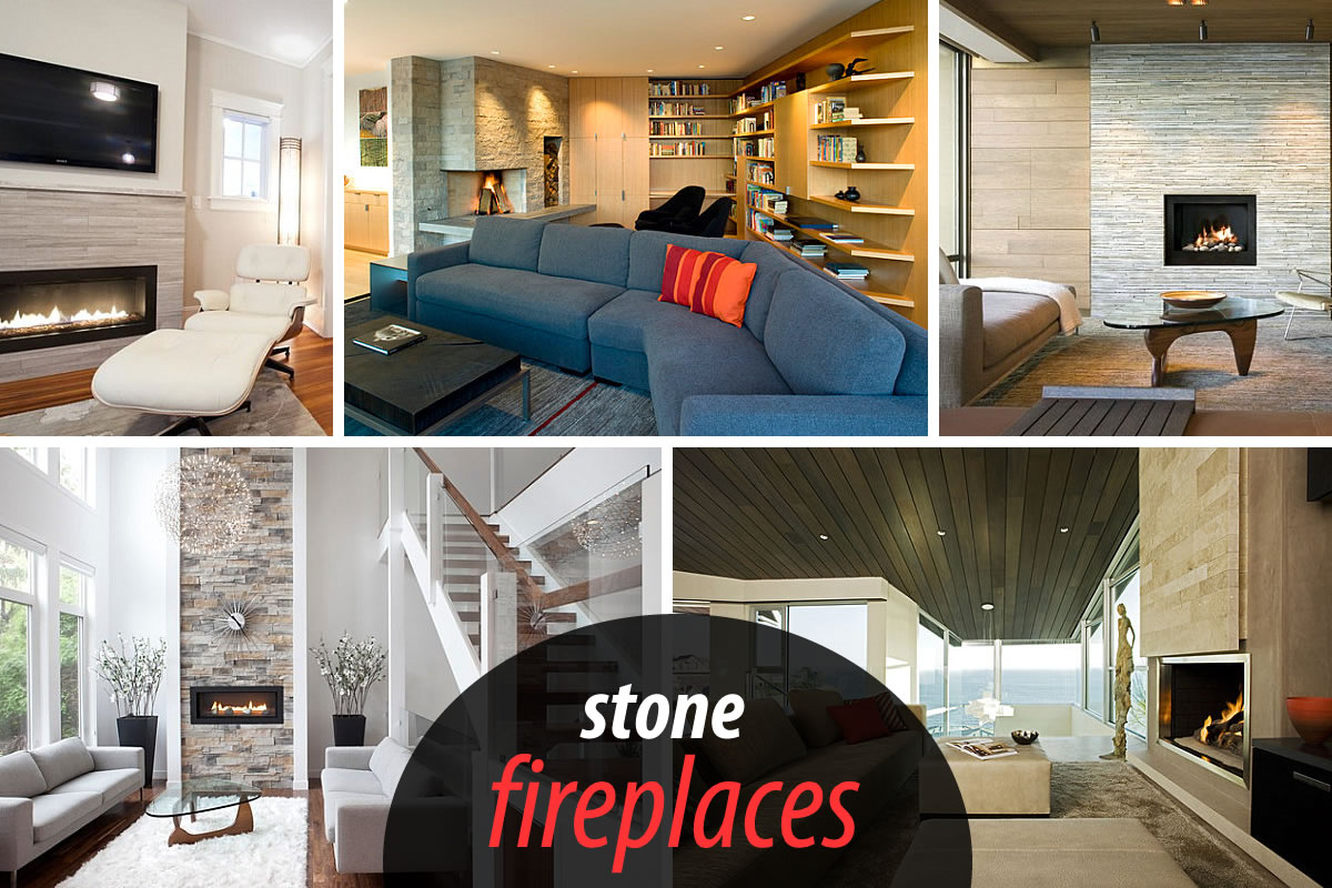 stone fireplaces Stone Fireplaces Add Warmth and Style to the Modern Home