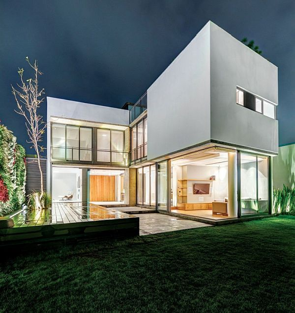 stunning modern home