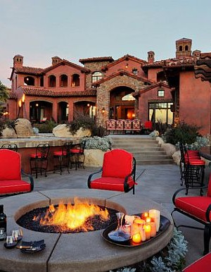stylish firepit designs