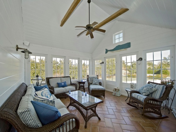 sunroom white furniture