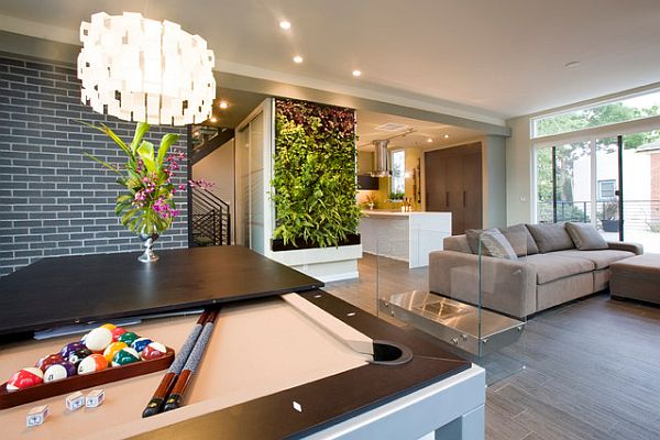 Ultra modern relaxing room with a contemporary style
