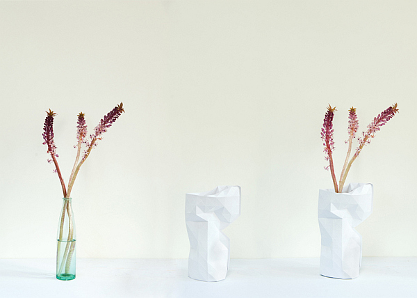 water proof paper vase cover