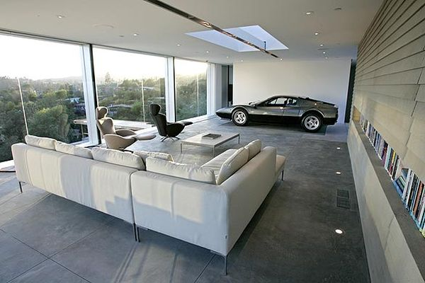 Parked to perfection stunning car garage designs for Sense of space architecture
