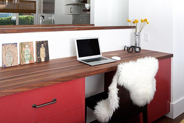 An organized workspace