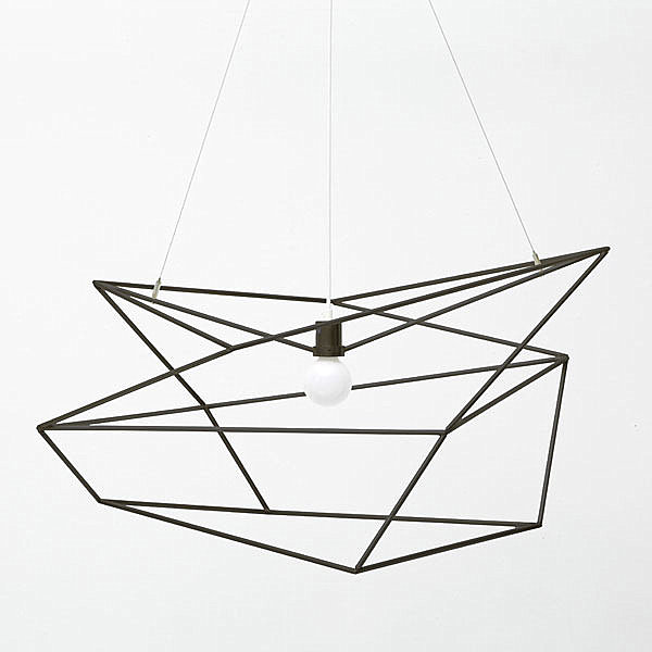 Angular pendant lighting