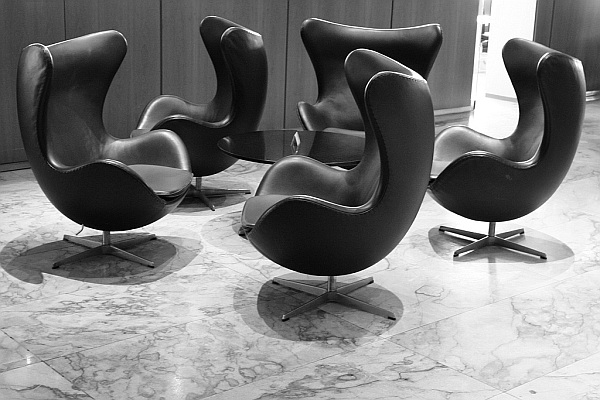 Arne Jacobsens Egg chair