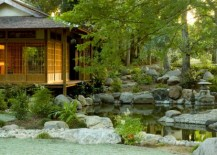 Beautiful and balanced garden adds to the look of the home 217x155 28 Japanese Garden Design Ideas to Style up Your Backyard