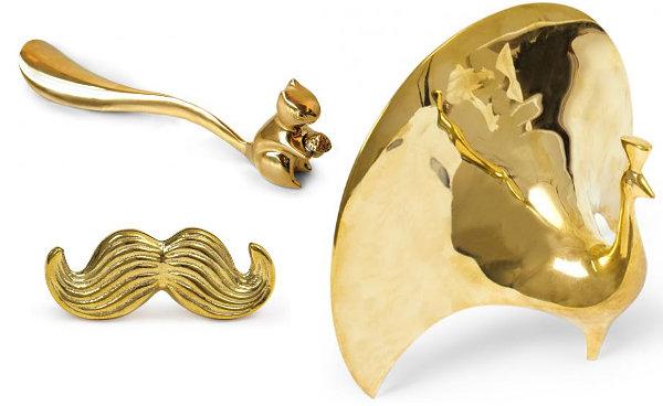 Brass decor from Jonathan Adler