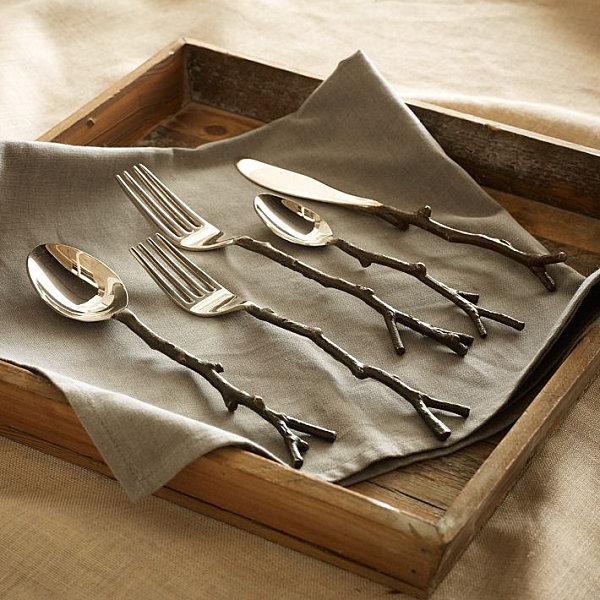 Brass flatware