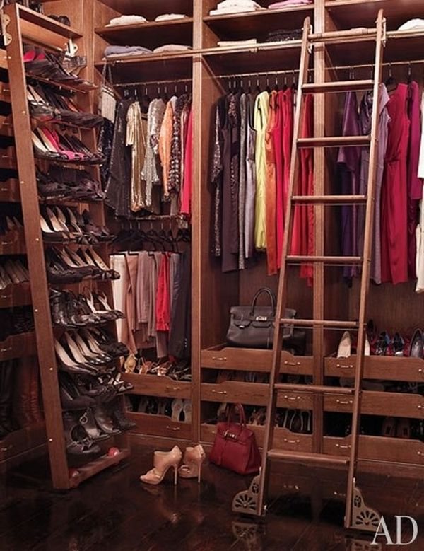 Brooke Shields' top-notch closet.