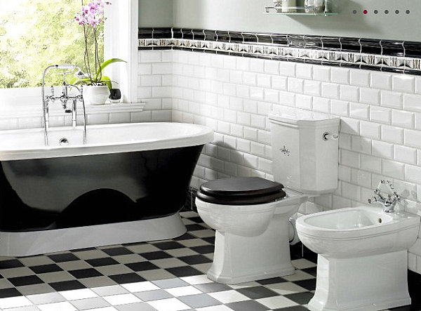 Checkerboard tile