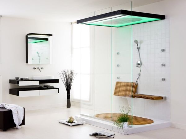 Clean Shower Space
