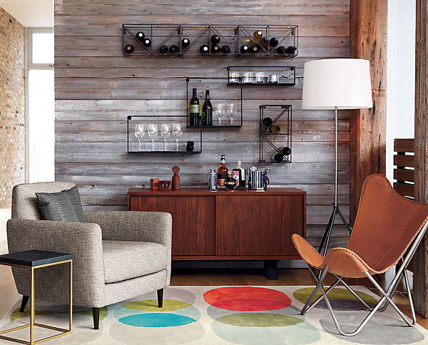 New patterned rug finds for your interior - Barras de bar para casa ...