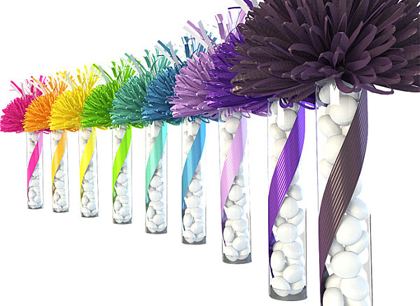 Colorful Party Decorations Colorful Party Favor Idea