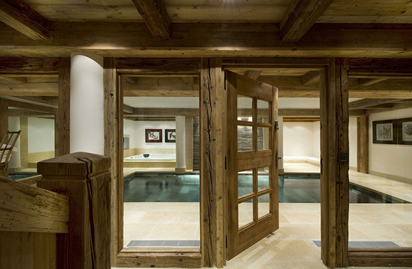 Courchevel Ski Chalet - indoor pool