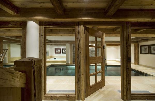 Courchevel Ski Chalet - indoor pool