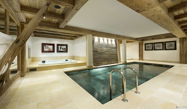 Courchevel Ski Chalet - luxury spa