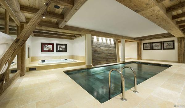 Courchevel Ski Chalet – luxury spa
