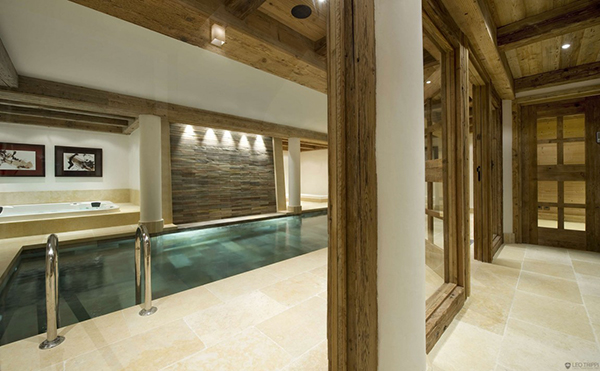 Courchevel Ski Chalet - swimming pool