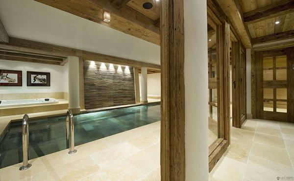 Courchevel Ski Chalet – swimming pool