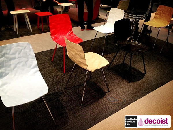 DENT Chair in 3D-form Veneer for Bla Station