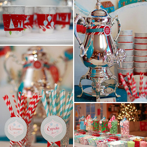 View in gallery DIY Christmas party decorations