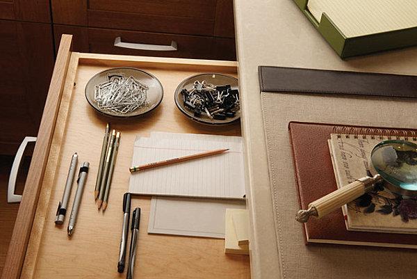 Decluttered drawer