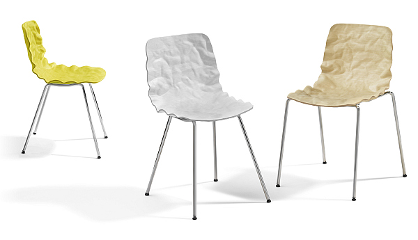 Dent Chair - 3D form veneer by O4i