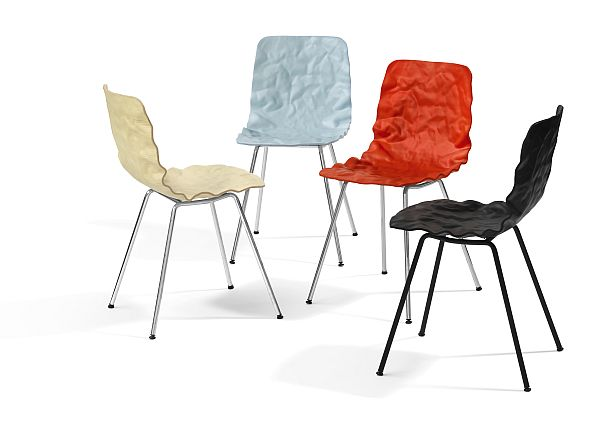 Dent Chair - 3D form veneer