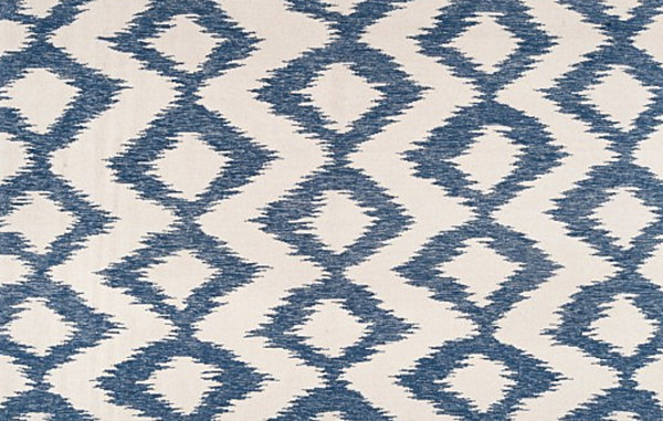 Diamond ikat rug