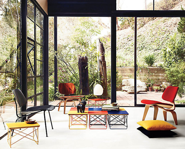 Eames low tables