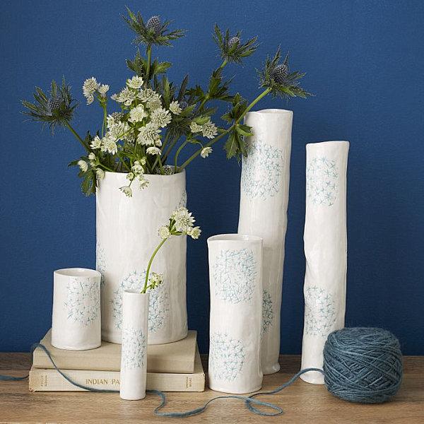 Earthy clay vases