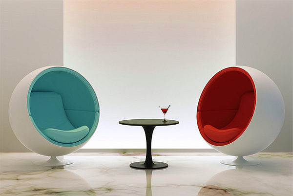 Eero Aarnios Ball chair