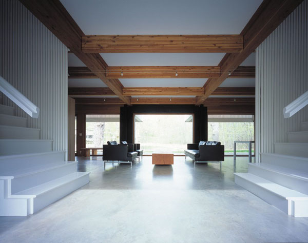 Exposed beams in modern residences (10)